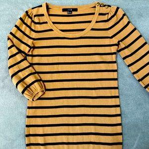 XXI Carmel / Black stripes knit sweater SMALL ****